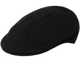 Bemuda Black Flat Cap - Kangol