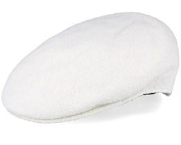Bermuda 504 White Flat Cap - Kangol
