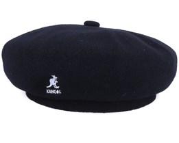 Wool Jax Beret Black Beret - Kangol