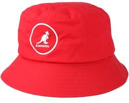 Cotton Rojo Red Bucket - Kangol