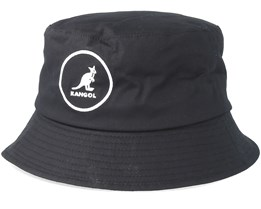 Cotton 1 Black Bucket - Kangol
