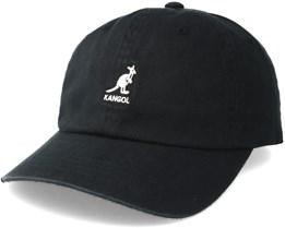 Washed Baseball Black Adjustable - Kangol