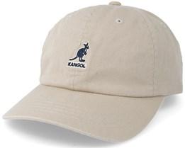 Washed Baseball Khaki Adjustable - Kangol