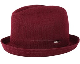 Tropic Player Burgundy Fedora - Kangol