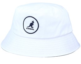 Cotton Bucket White/Navy Bucket - Kangol