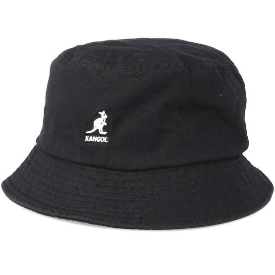 Hatt Washed Black Bucket - Kangol - Svart Bucket