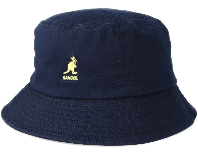 ff0fa8d67c8 Washed Navy Bucket - Kangol hats - Hatstore.ae