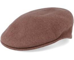 Wool 504 Cocoa Flat Cap - Kangol