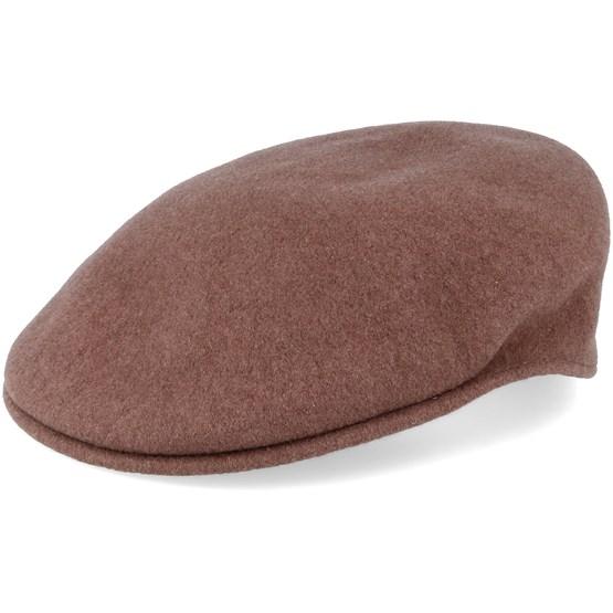 Keps Wool 504 Cocoa Flat Cap - Kangol - Brun Flat Caps