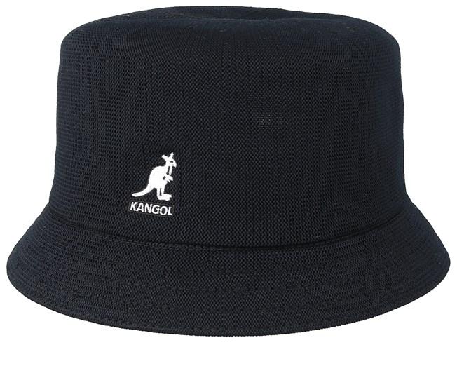 9df9c6047c307 Tropic Bin Black Bucket - Kangol hats - Hatstoreworld.com