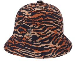 Carnival Casual Tan Tiger Bucket - Kangol