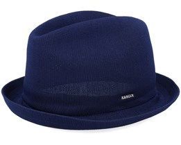 Kg Tropic Player Navy Fedora - Kangol