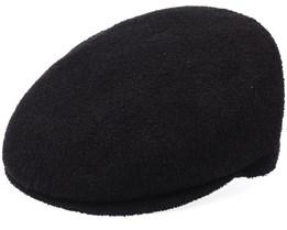 Bermuda Clery Black Flat Cap - Kangol