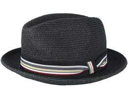 Salem Black Trilby - Bailey
