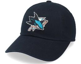 San Jose Sharks Blue Line Black Dad Cap - American Needle