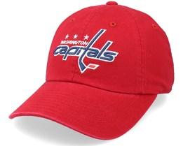 Washington Capitals Blue Line Red Dad Cap - American Needle