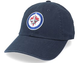 Winnipeg Jets Blue Line Navy Dad Cap - American Needle