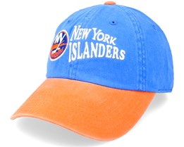 New York Islanders Dyer Faded Blue/Orange Dad Cap - American Needle