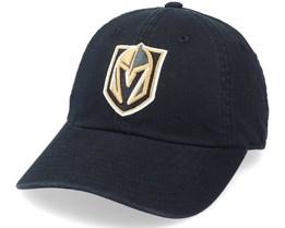 Vegas Golden Knights Blue Line Black Dad Cap - American Needle