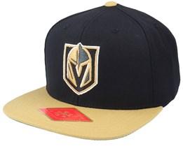 Vegas Golden Knights 400 Series Black & Gold Snapback - American Needle