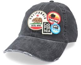 California  Black Dad Cap - American Needle