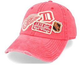 Detroit Red Wings Detroit Red Wings Iconic Red Dad Cap - American Needle
