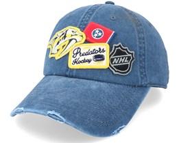 Nashville Predators Nashville Predators  Navy Dad Cap - American Needle