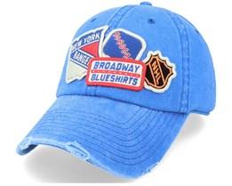 New York Rangers Royal Dad Cap - American Needle