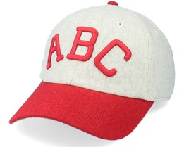 Indianapolis Abc Archive Legend Ivory & Red Dad Cap - American Needle