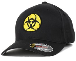 Biohazard Black/Yellow Flexfit - Iconic