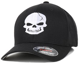 Iconic - Skull Black/White Flexfit