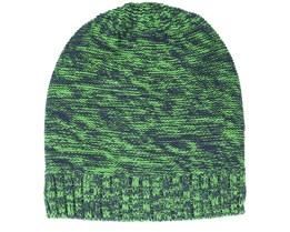 Green/Navy Scratch Beanie - Beechfield
