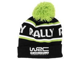 Rally Black/Green Pom - WRC