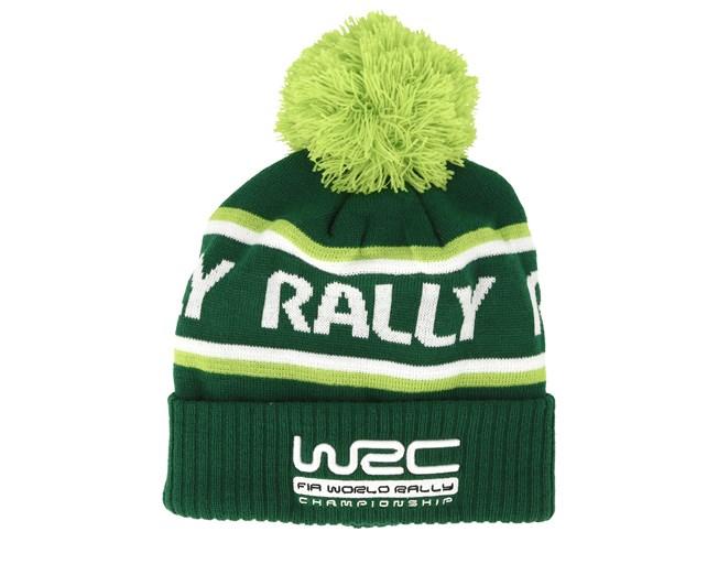 ed3cd5e39 Rally Green Pom - WRC beanies | Hatstore.co.uk