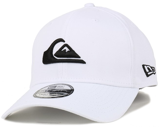 M   W Colours White Flexfit - Quiksilver caps  85c0fad1062