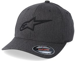 Ageless Curve Heather Charcoal/Black Flexfit - Alpinestars