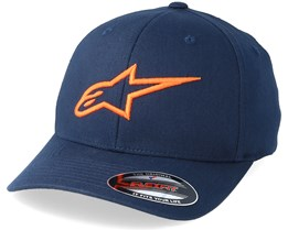 Ageless Curve Navy/Orange Flexfit - Alpinestars