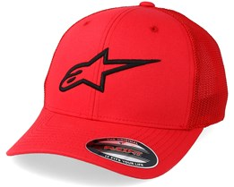 Ageless Stretch Mesh Red/Black Flexfit - Alpinestars