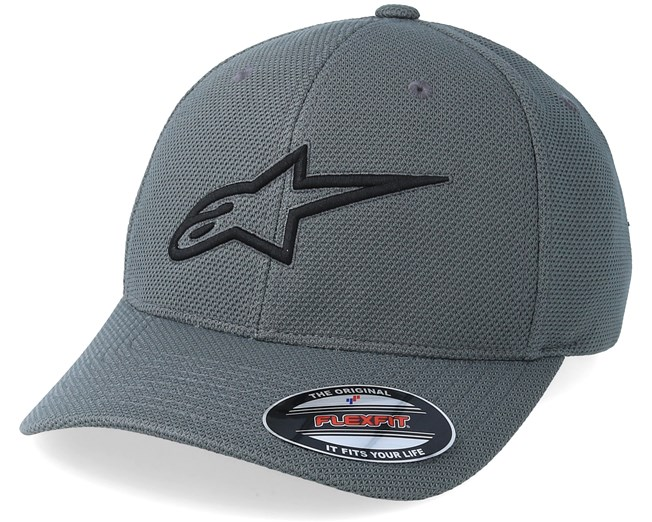 Ageless Mock Mesh Charcoal Black Flexfit - Alpinestars - Start Boné -  Hatstore 13a9985d796