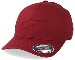 Ageless Emboss Burgundy Flexfit - Alpinestars