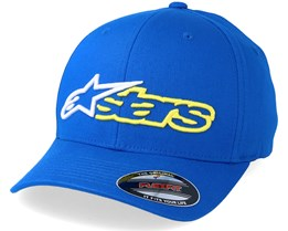 Reblaze Blue/Yellow Flexfit - Alpinestars