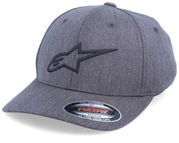 Kids Ageless Curve Charcoal/Black Flexfit - Alpinestars