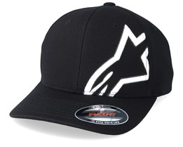 Corp Shift Mock Mesh Black/White Flexfit - Alpinestars