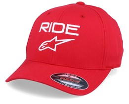 Ride 2.0 Red/White Flexfit - Alpinestars