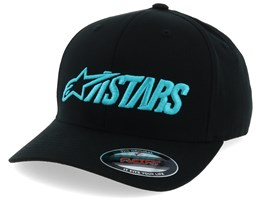 Angle Blaze Black/Turquoise Flexfit - Alpinestars
