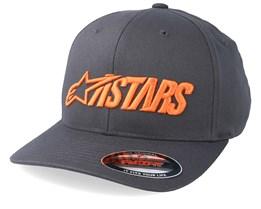 Angle Blaze Charcoal/Orange Flexfit - Alpinestars