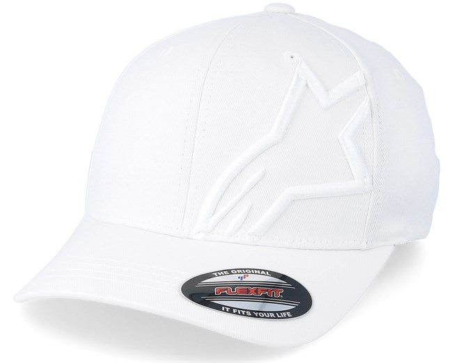 1219e5b512546 Corp Shift 2 Flexfit White White - Alpinestars caps - Hatstoreworld.com