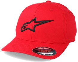Ageless Curve Red Flexfit - Alpinestars