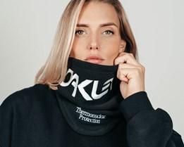 TNP Blackout/White Neck Gaiter - Oakley