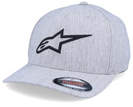 Ageless Curve Grey Heather/Black Flexfit - Alpinestars